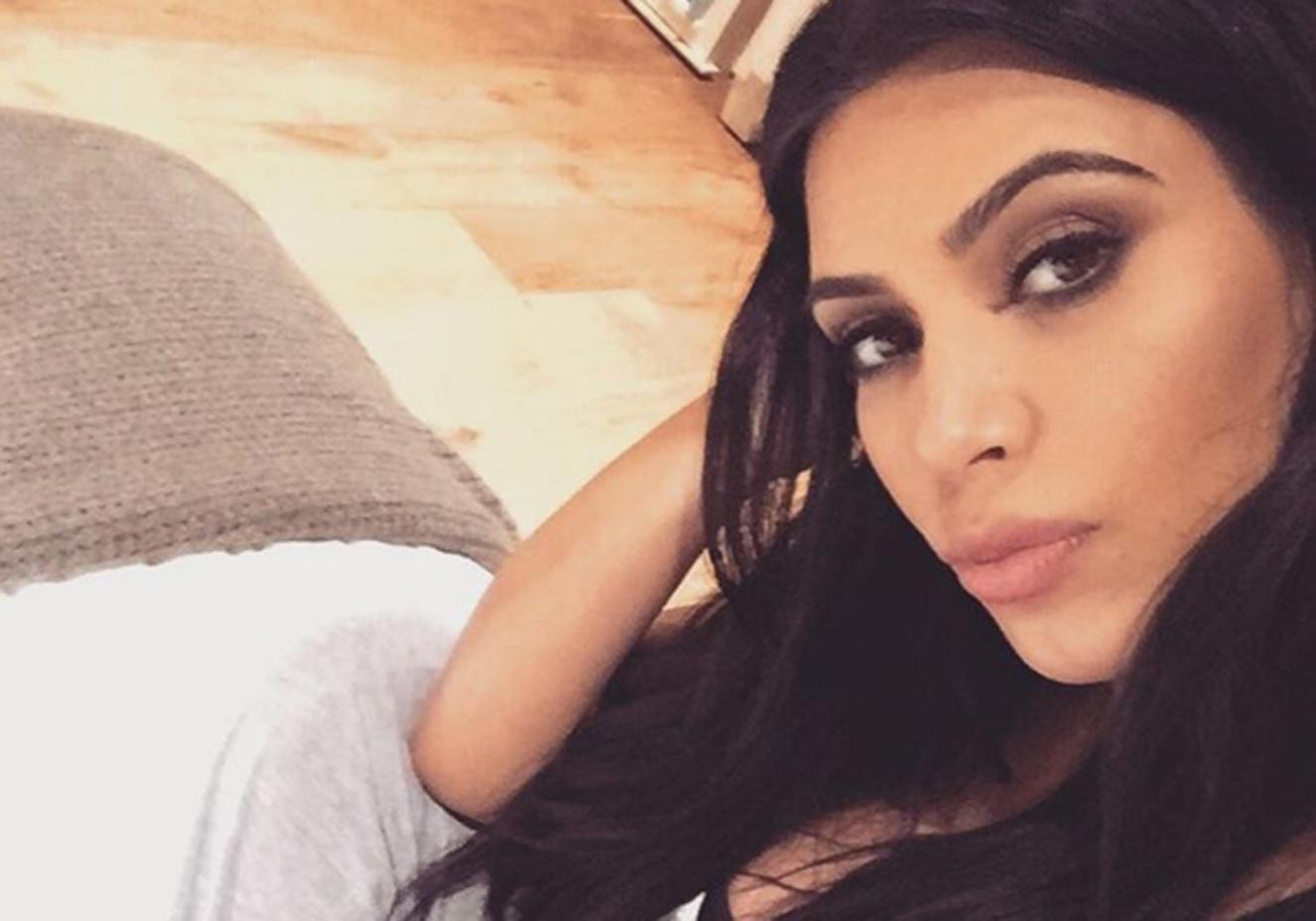 Reprodução/Instagram @kimkardashian