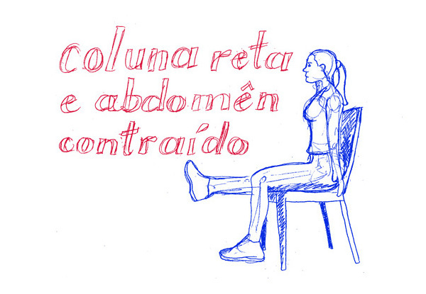 Abdominal funcional sentada