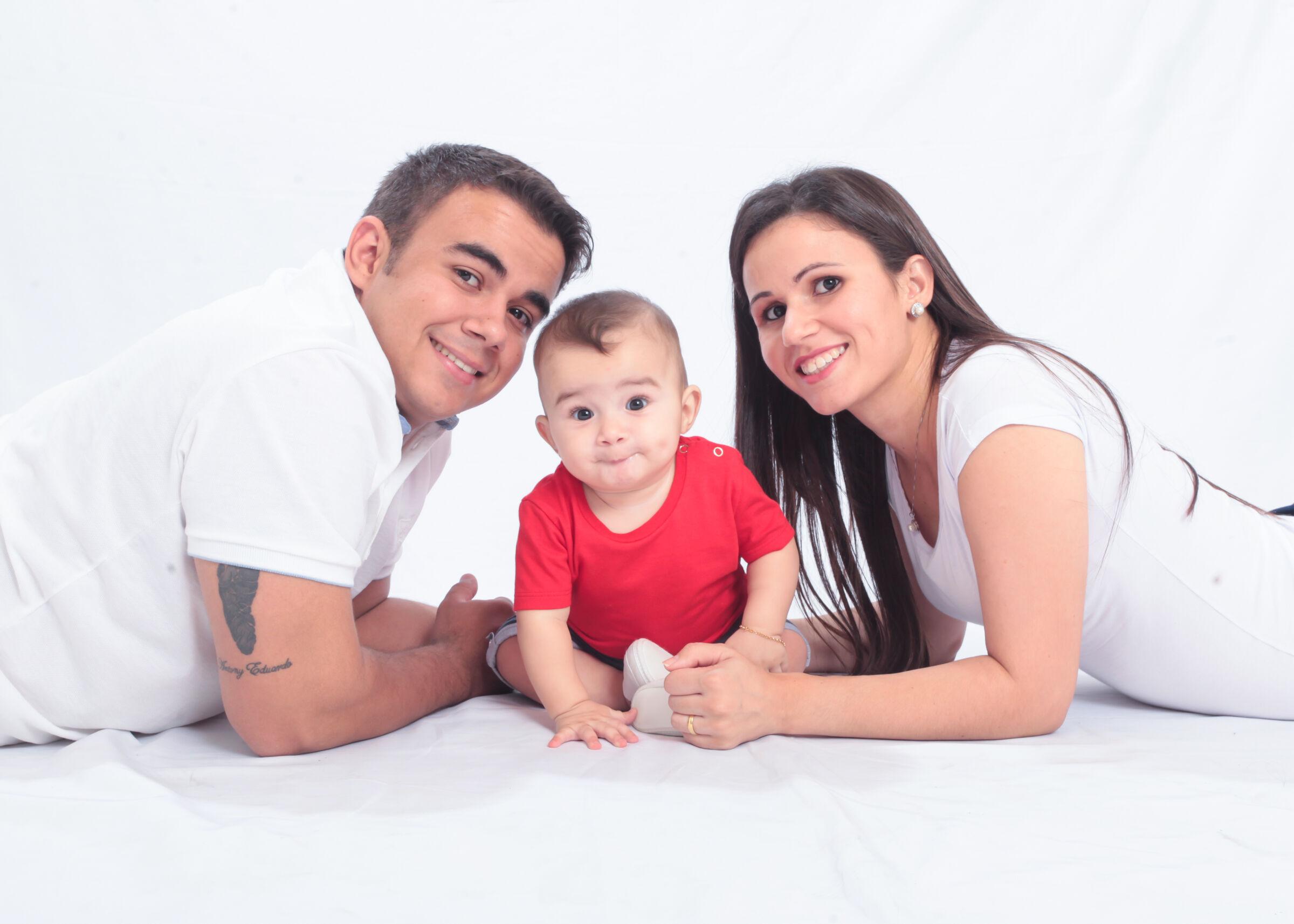 Katiara Carvalho e família