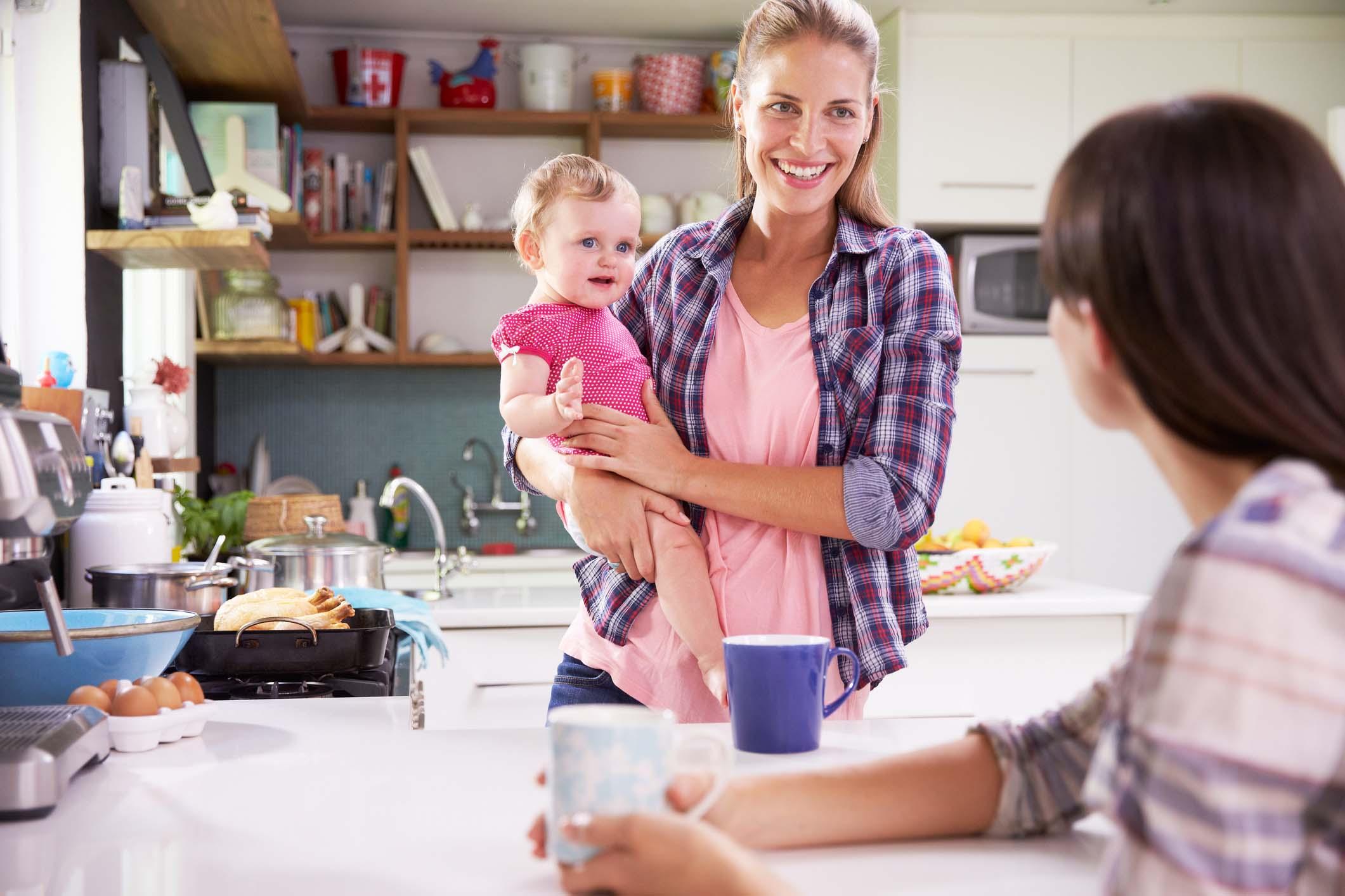 Como ajudar outras mães