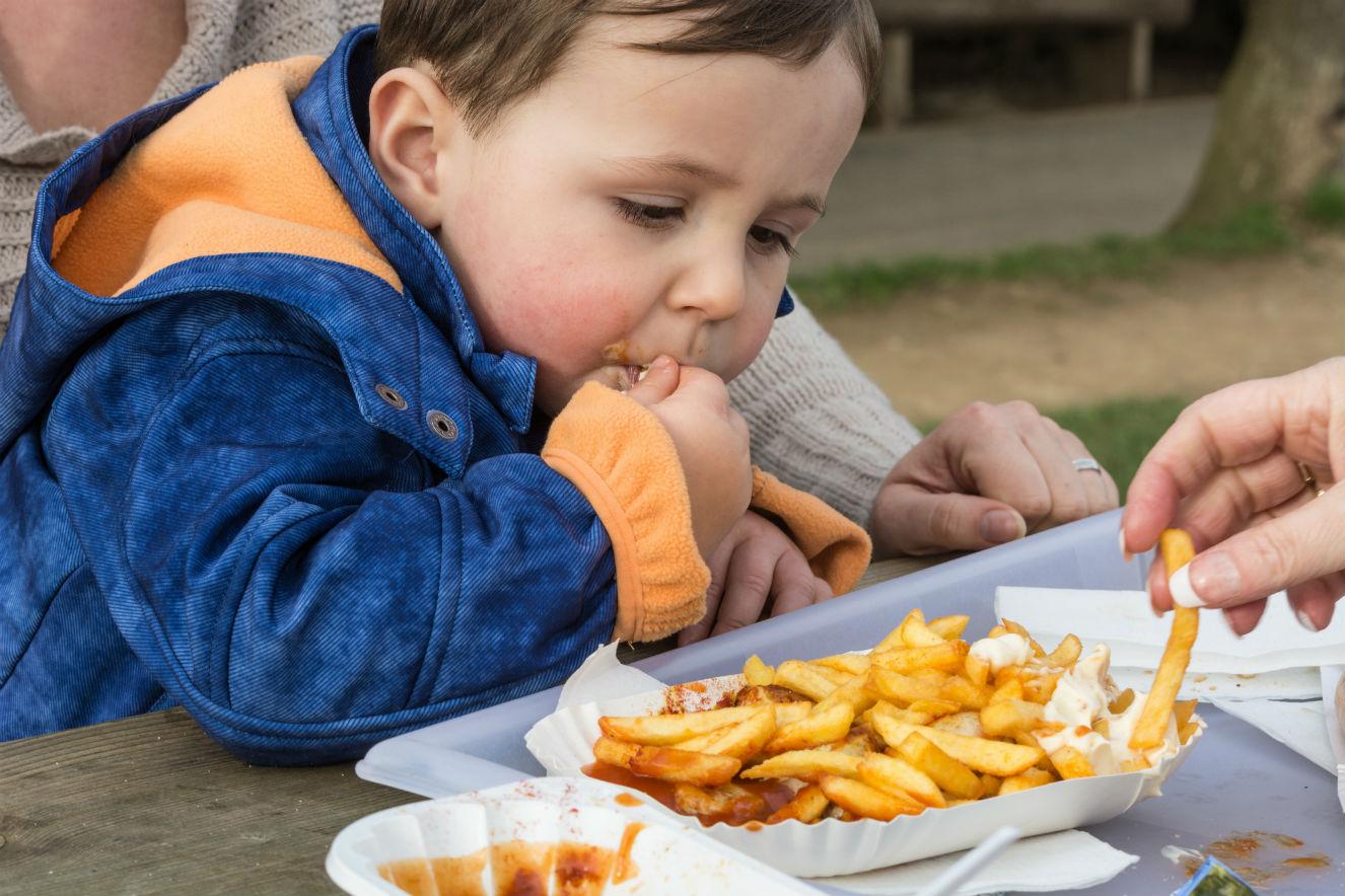 crianca obesa