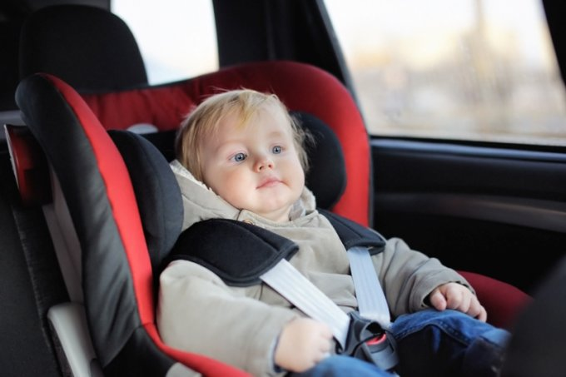 Cadeirinha de bebê para carro