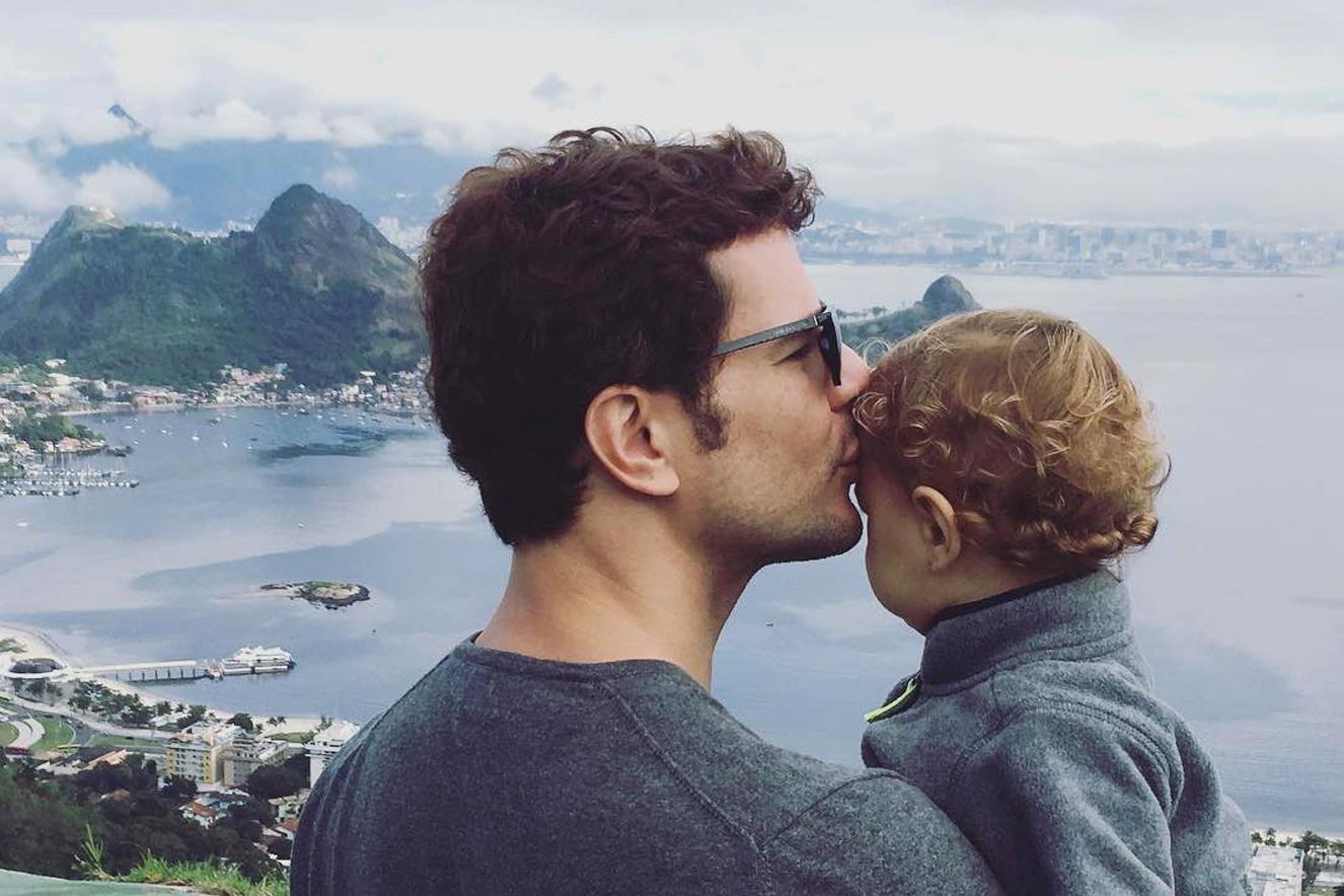 Dia dos Pais dos famosos, Daniel de Oliveira