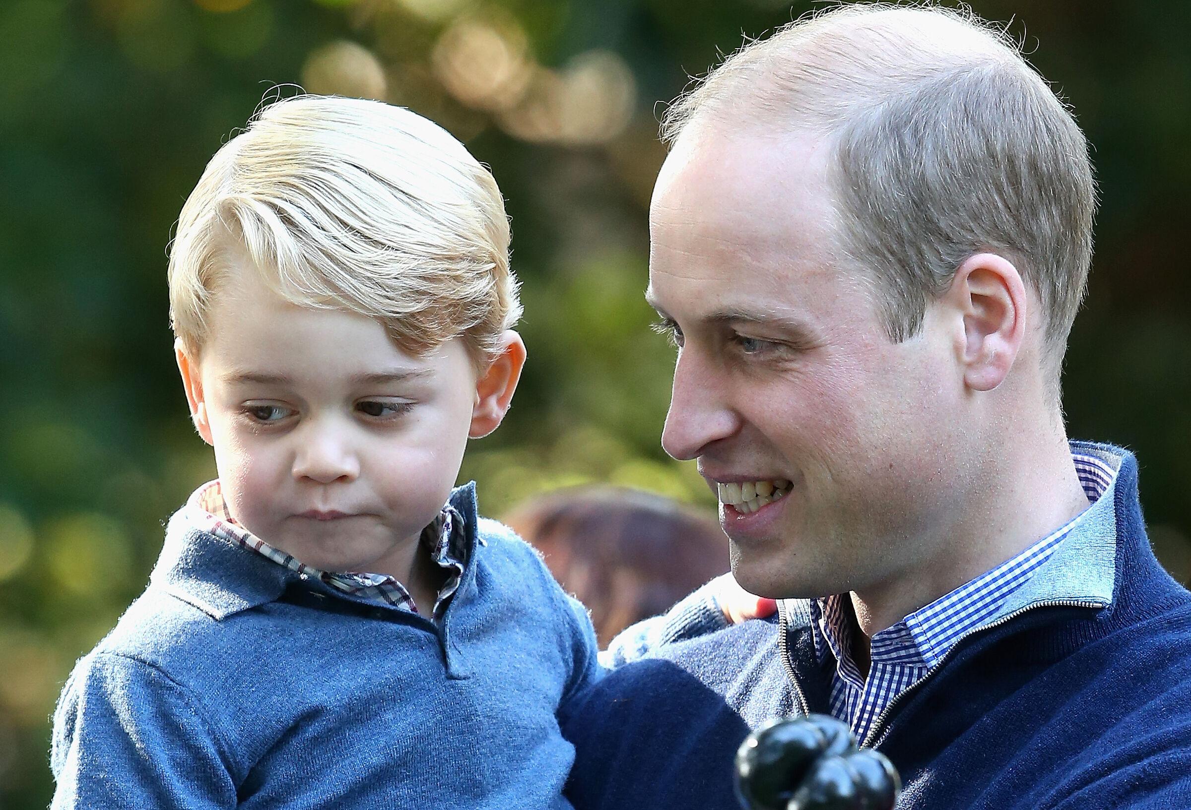 Príncipe William e George