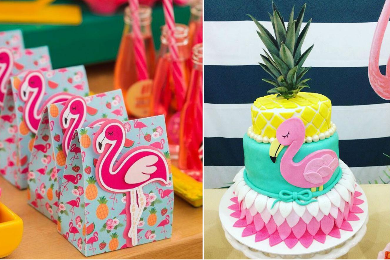festa de flamingos