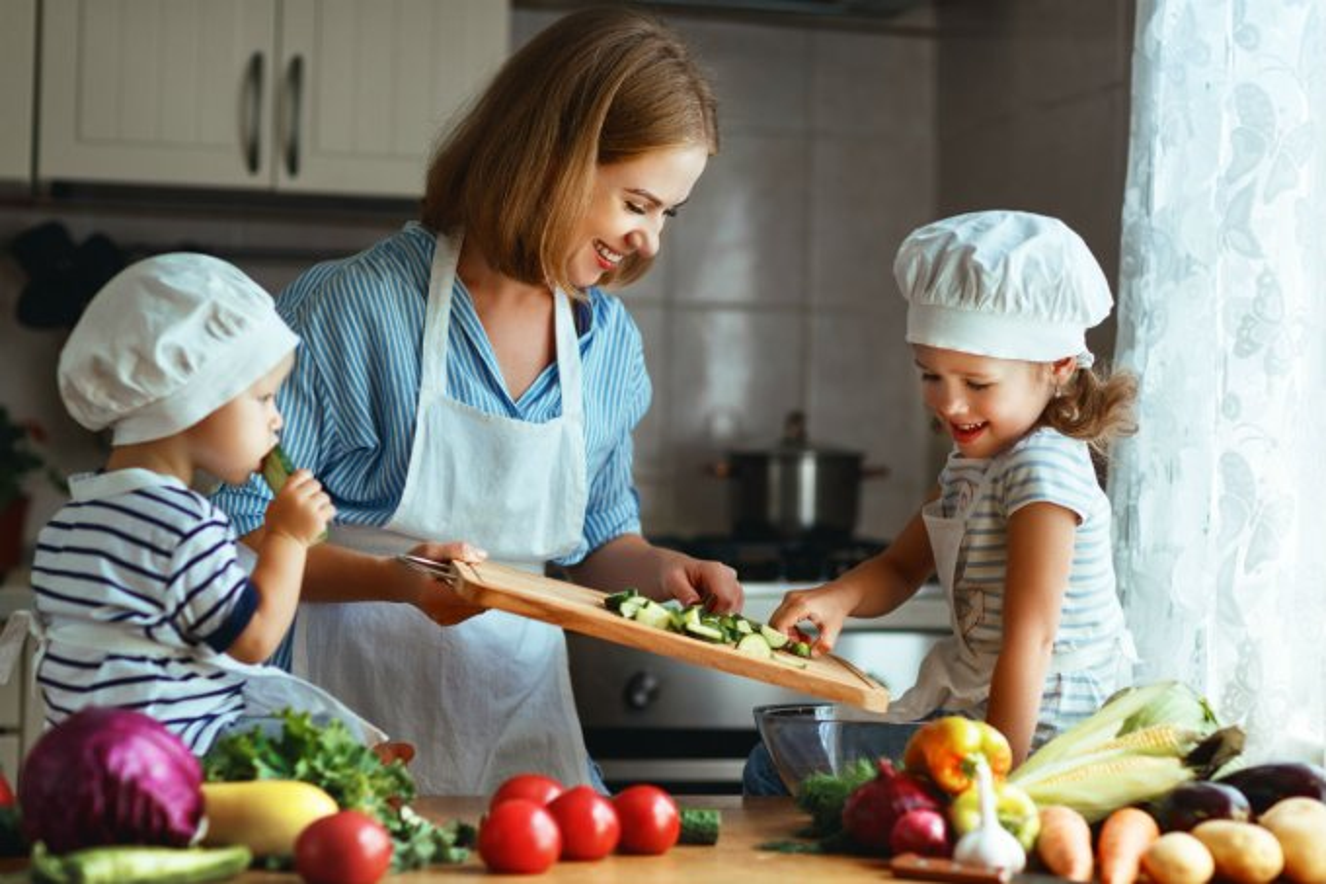 livro cozinhando com o pediatra