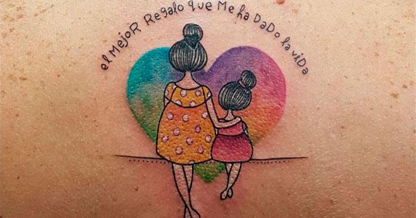 Tatuagem para mães