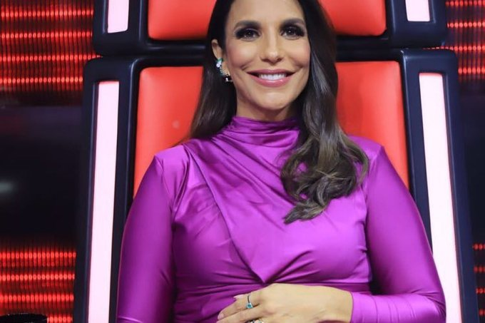 Look de Ivete Sangalo na final do The Voice Brasil