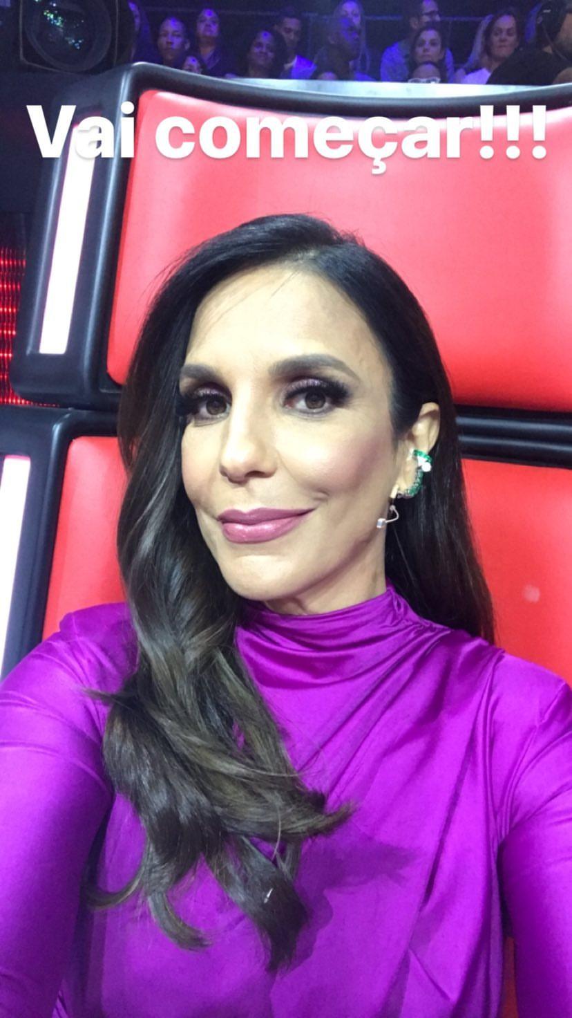 Ivete Sangalo na final do The Voice Brasil