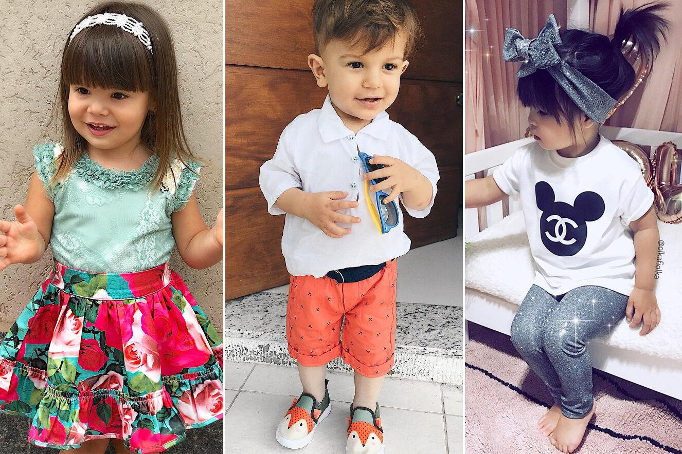 Crianças estilosas do Instagram