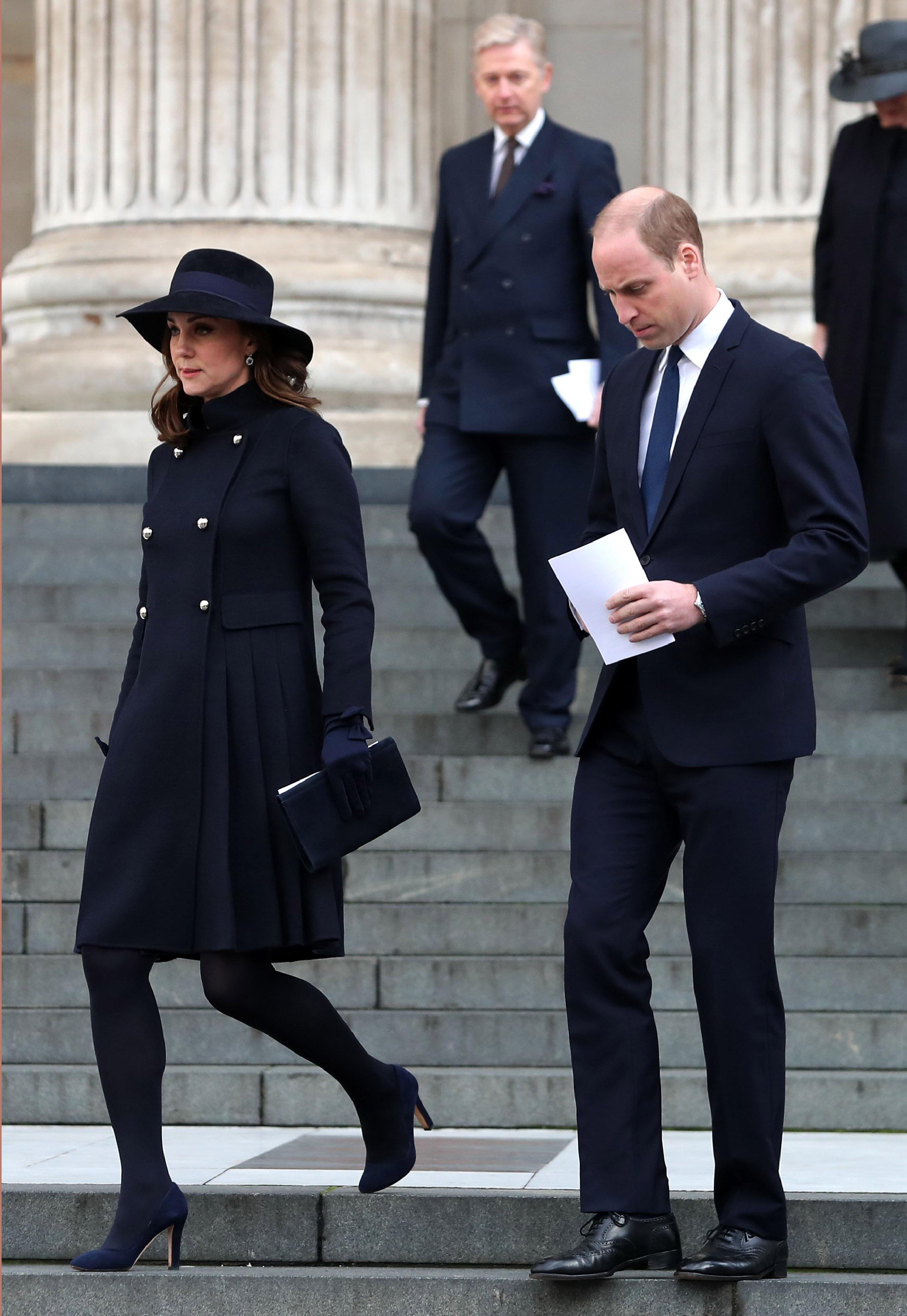 Kate Middleton grávida e Príncipe William