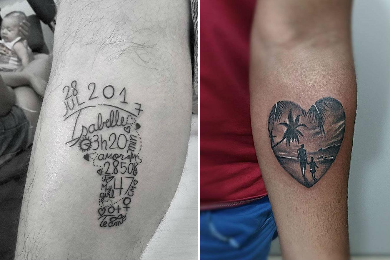 tatuagens para pais