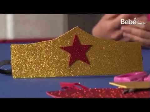 Como fazer acessórios de Carnaval para as crianças
