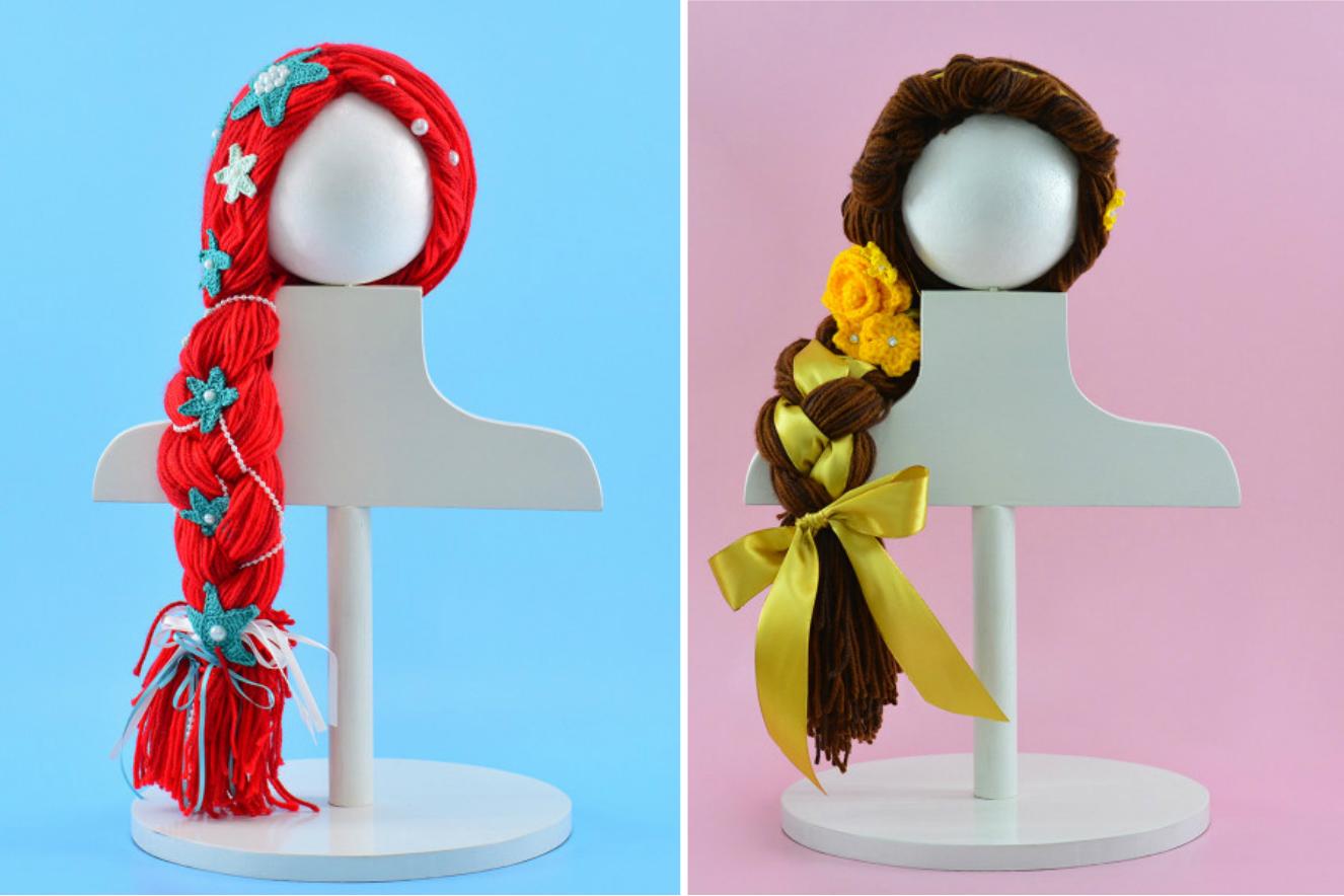 Como fazer perucas de princesas para criancas com cancer