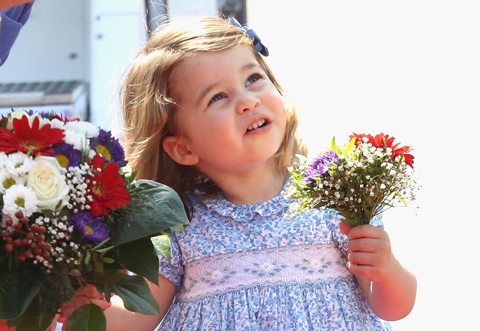 Princesa Charlotte, filha de Kate Middleton e William