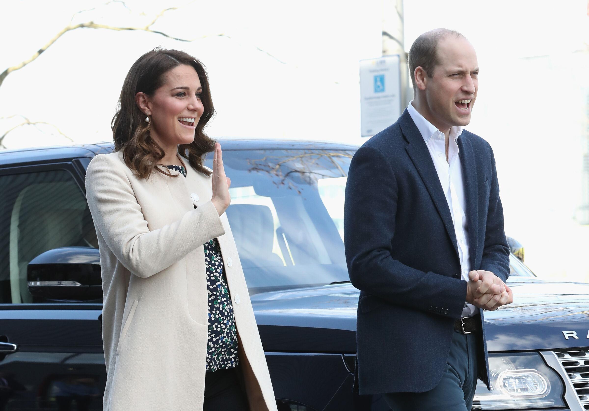 Kate Middleton grávida do terceiro filho, ao lado do príncipe William