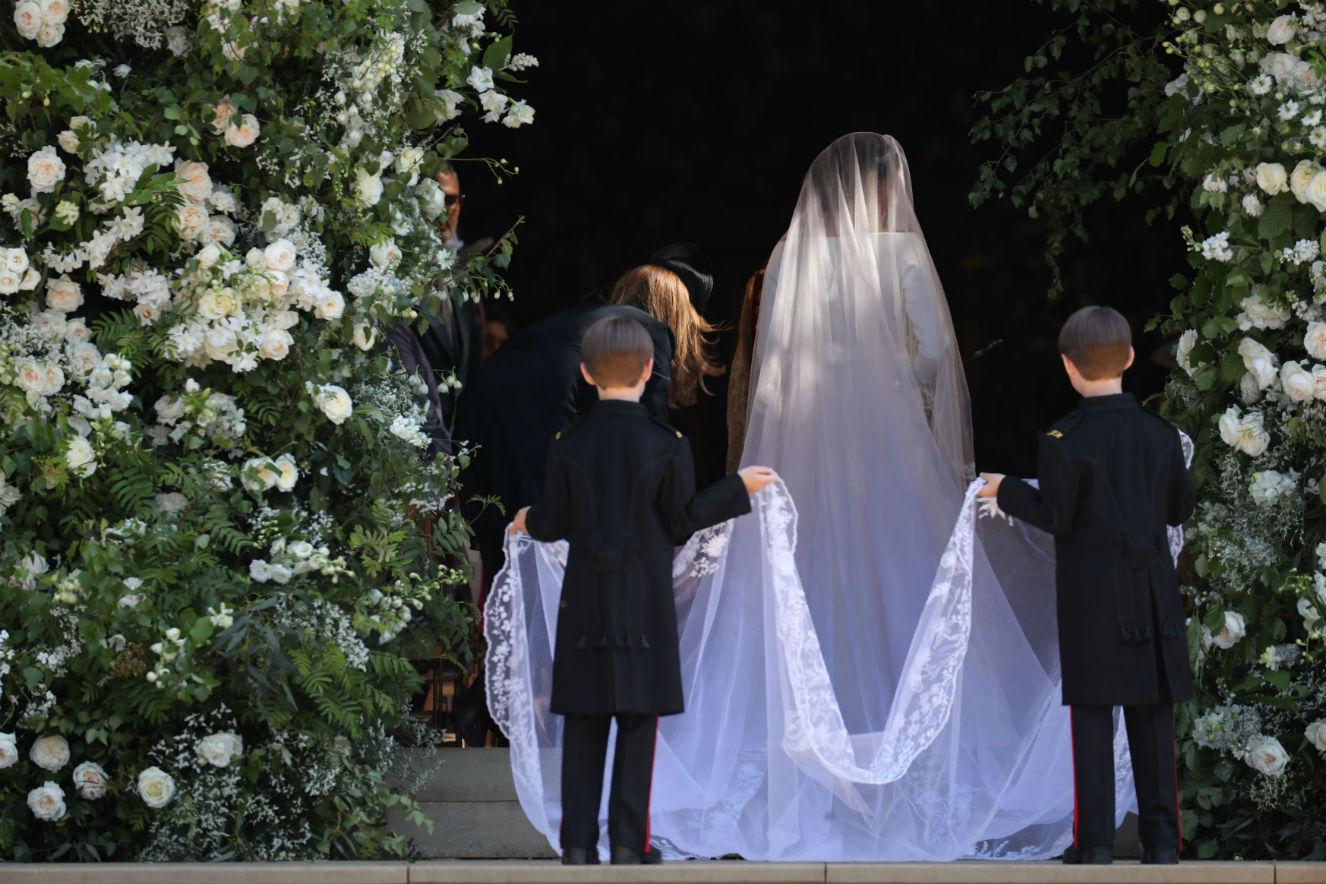 Foto oficial dos pajens no casamento de Meghan e Harry é divulgada