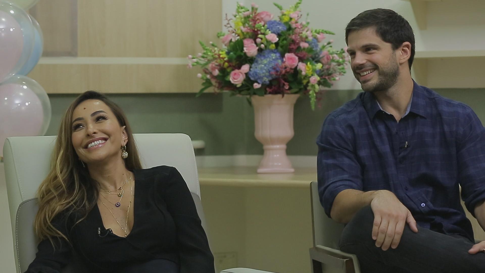Rodrigo Faro e Sabrina Sato
