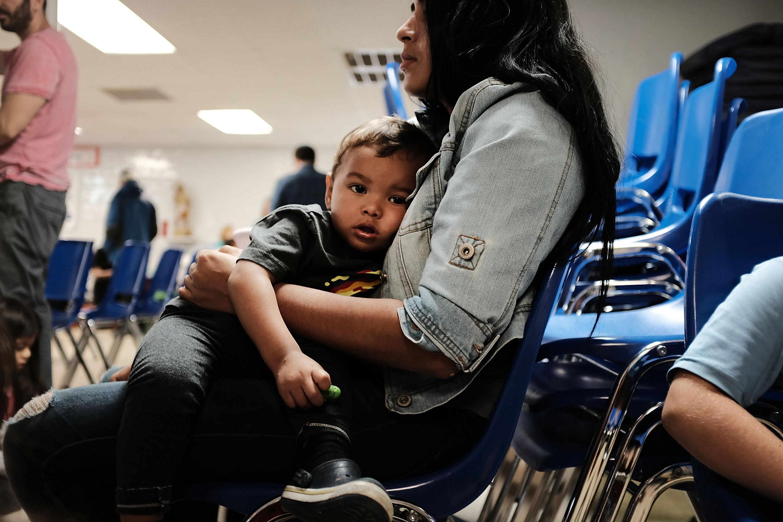 Família de imigrantes ilegais nos EUA