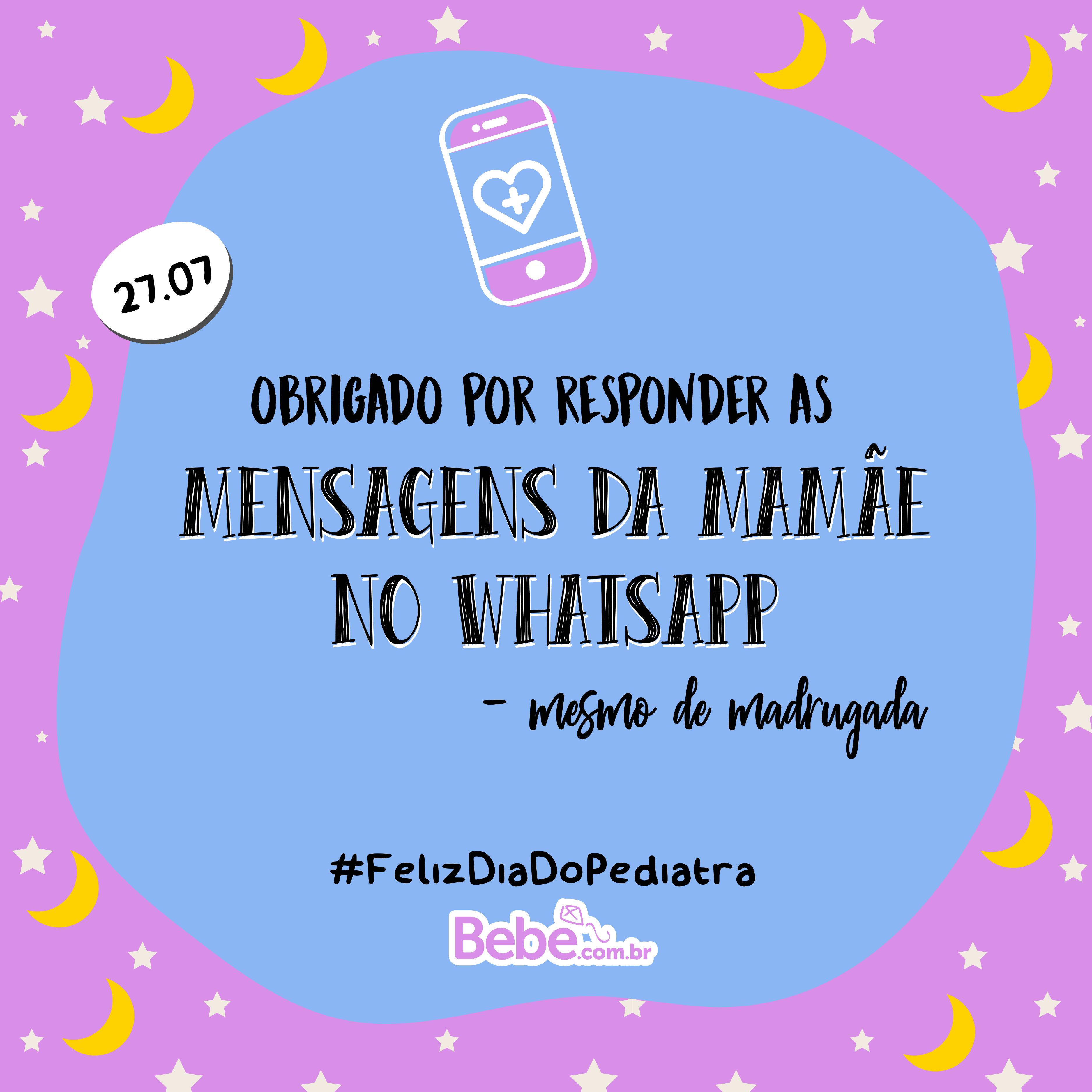 Dia do Pediatra: mensagens para enviar para o médico do seu filho