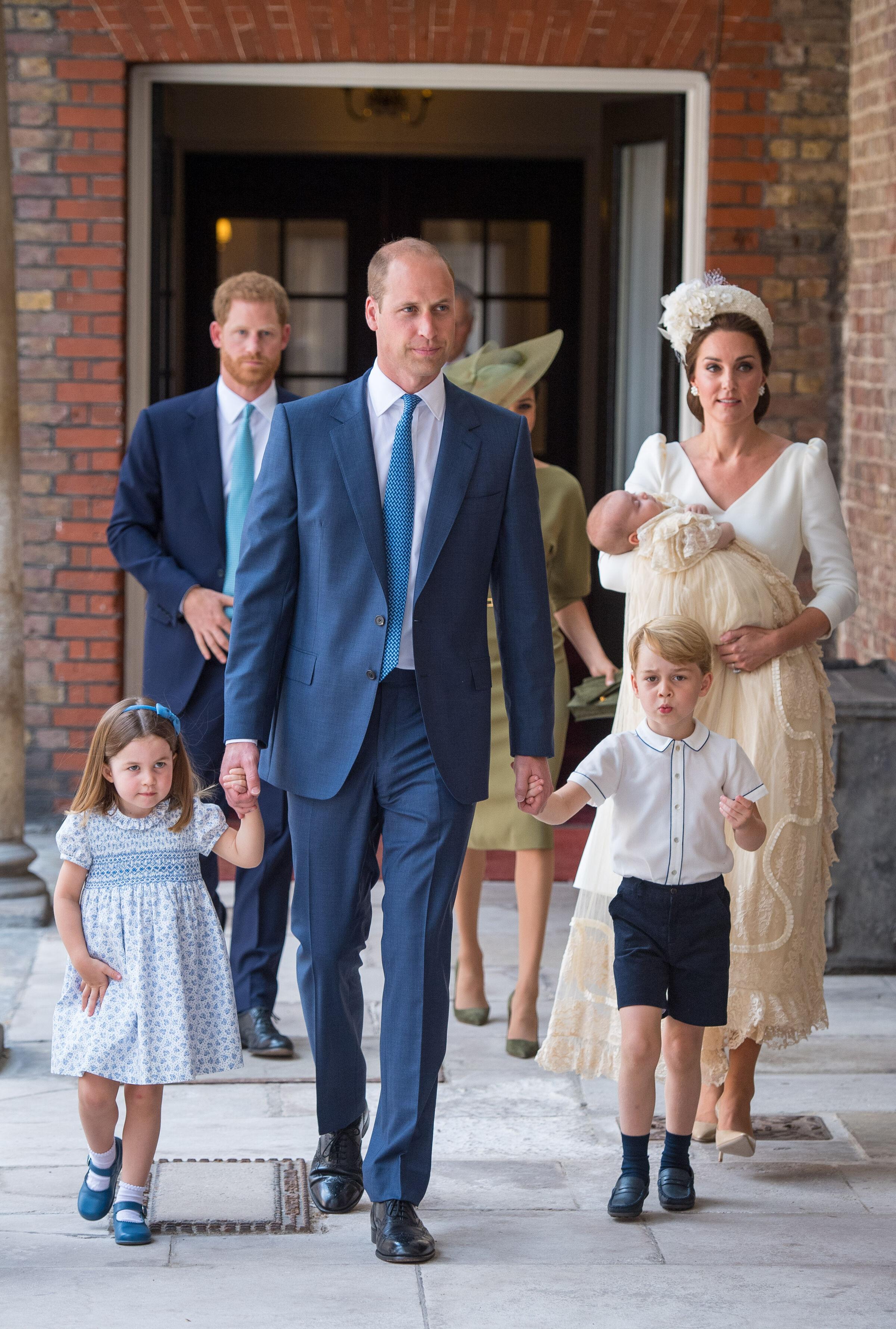 Batizado do Príncipe Louis: veja as primeiras fotos