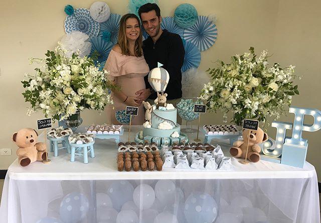 Milena Toscano faz chá de bebê para o seu primeiro filho