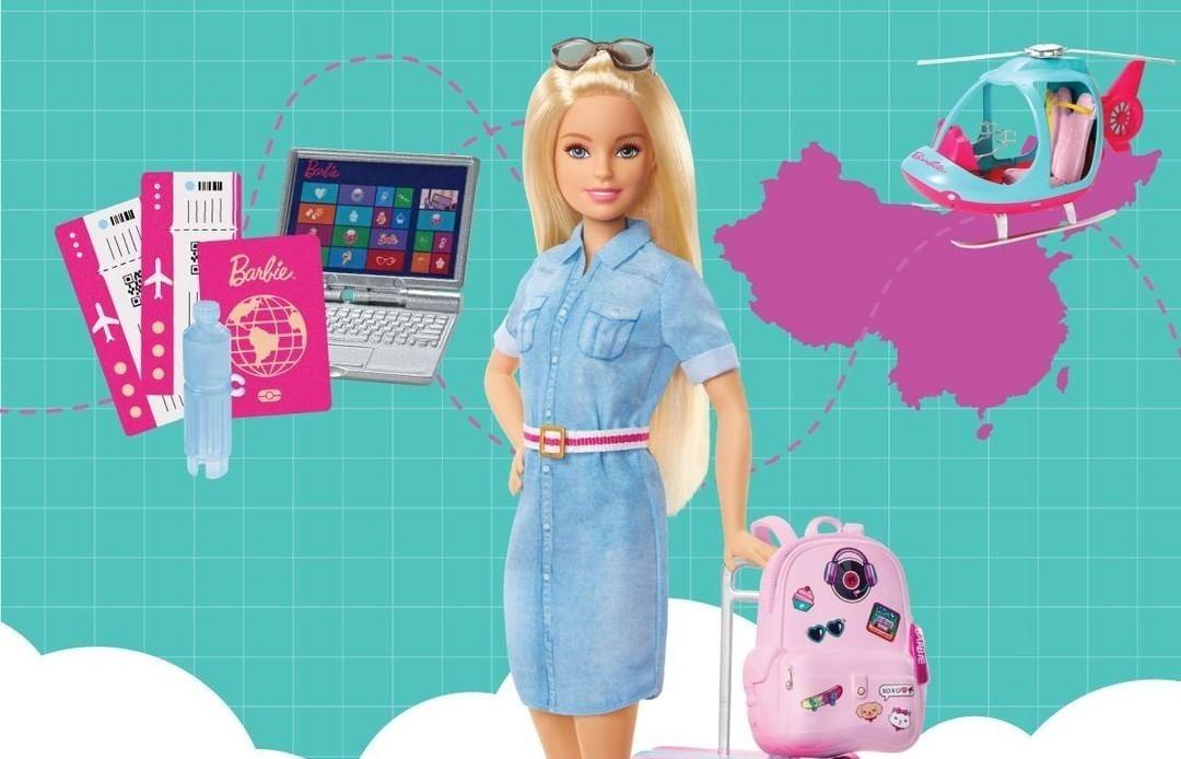 barbie-viajante