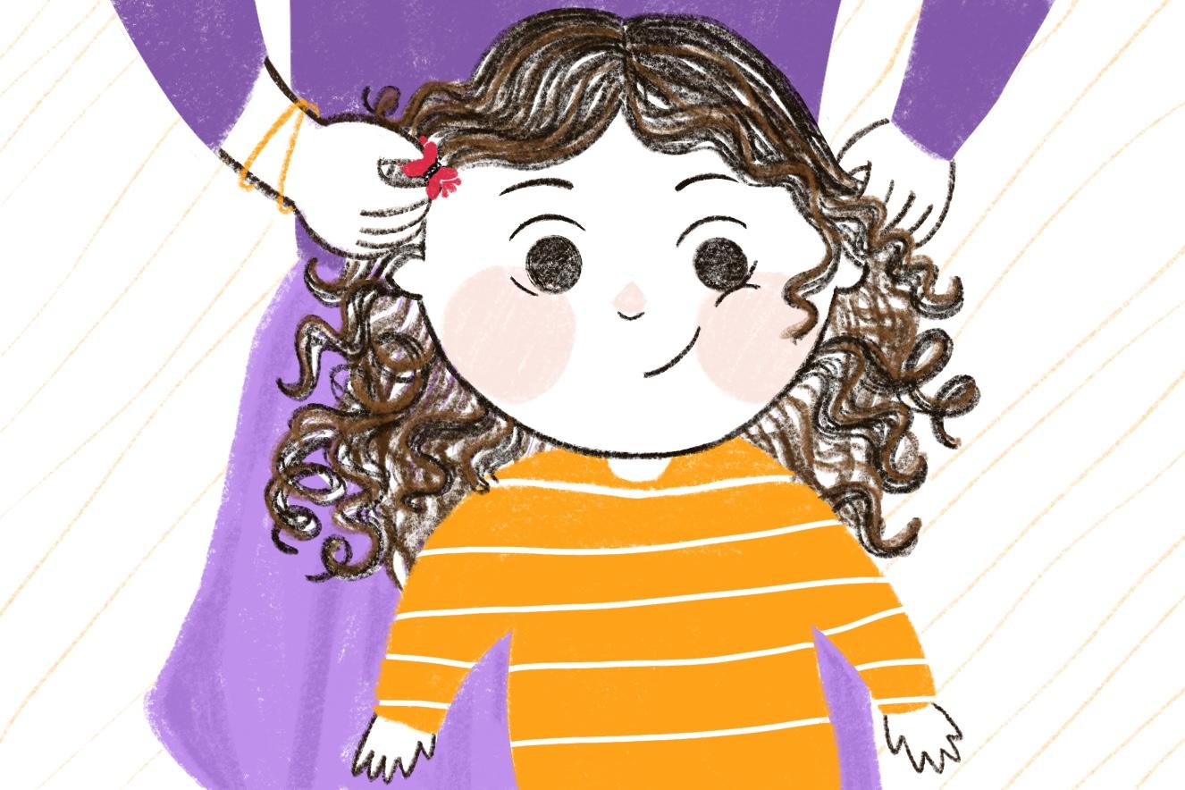 Cuidados-com-o-cabelo-cacheado-infantil
