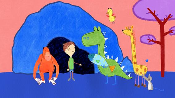 Desenho-Pablo-da-Nat-Geo-Kids