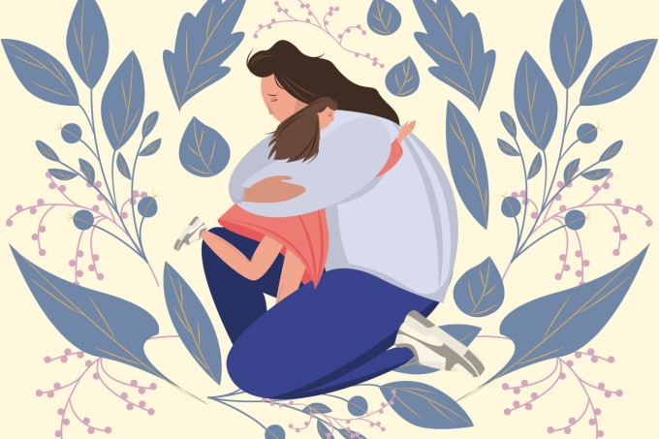 Mãe-abracando-a-filha