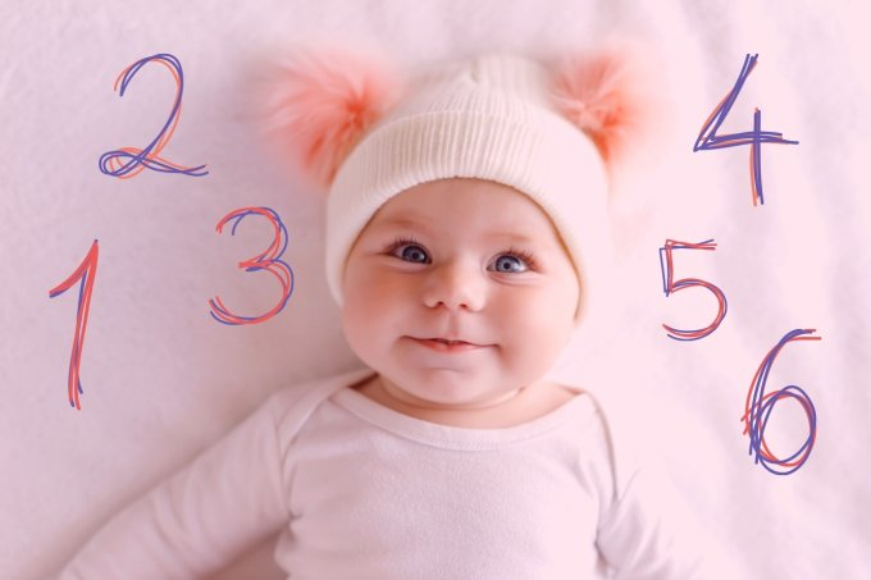 bebê mesversario