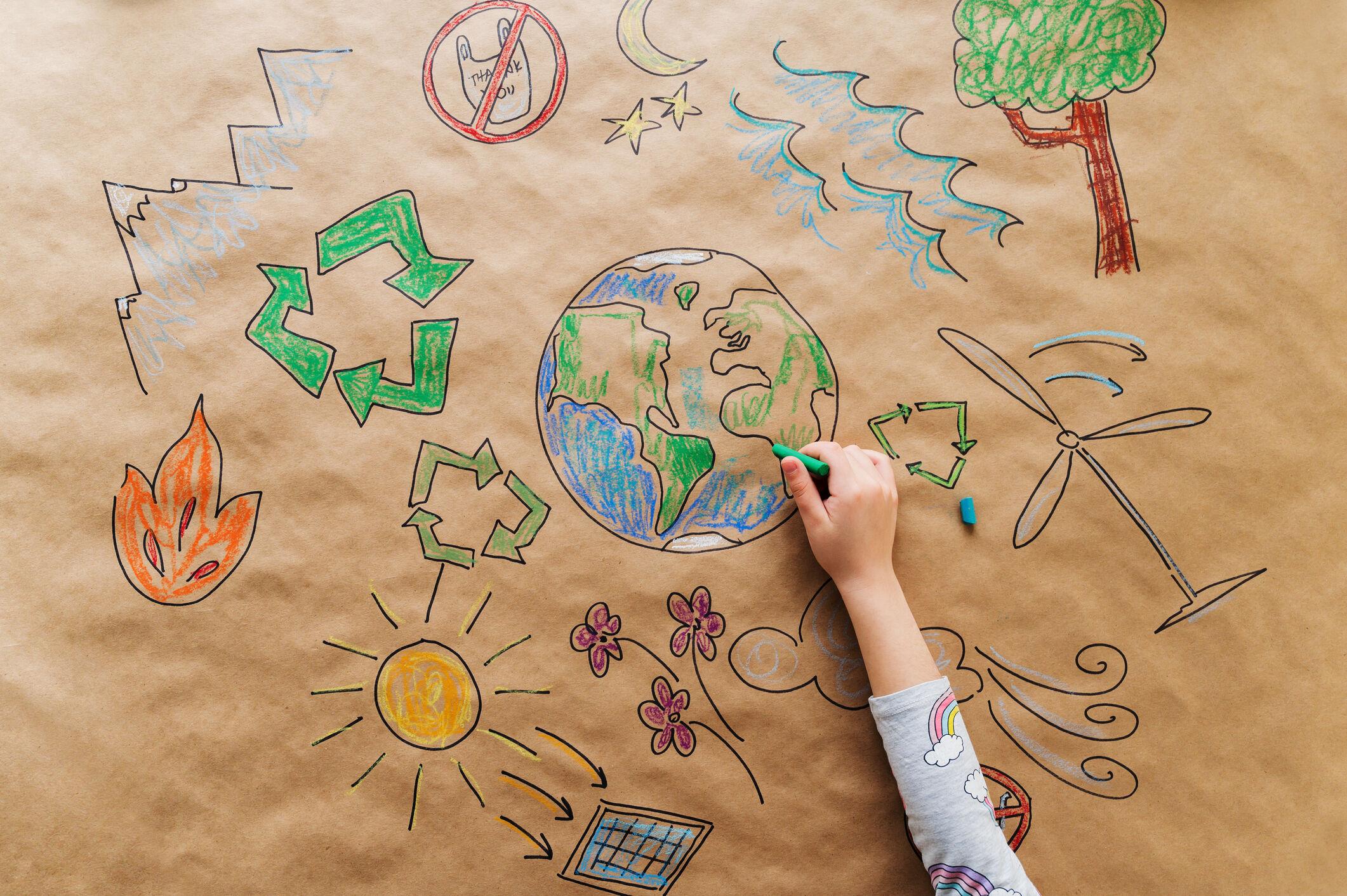 crianca-desenho-natureza