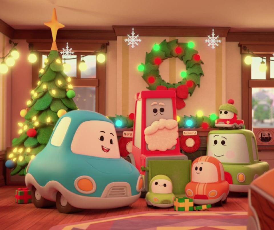 <h3><b>A Go! Go! Cory Carson Christmas</b></h3>| Data de estreia: 27/11 | Bi-bi! Com Cory à solta, as estradas da Veiculândia são só aventura! Na edição natalina, um limpa-neve que tem uma estranha semelhança com o Papai Noel estaciona no quintal de Carson, e Cory terá que lembrá-lo de sua identidade para salvar o Natal.