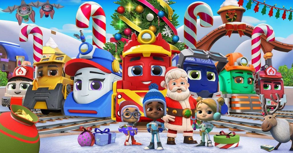 <h3><b>Mighty Express: A Mighty Christmas</b></h3>| Data de estreia: 05/12 | Os trenzinhos velozes estão de volta para mais uma jornada! Desta vez, Mandy Mail tem a importante missão de entregar um carregamento de cartas de Natal atrasadas no Polo Norte. Com a ajuda do Papai Noel e dos outros trens, eles terão que garantir que todos os presentes chegarão sãos e salvos - mesmo com a tempestade de neve que toma a cidade!