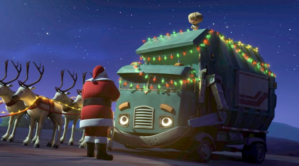 <h3><b>A Trash Truck Christmas</b></h3>| Data de estreia: 11/12 | O pequeno Hank é um garoto de seis anos cujo melhor amigo é Trash, um caminhão de lixo. Quando o menino descobre que seu companheiro não sabe o que é o Natal, ele decide mostrar do que se trata a magia natalina! E para a sorte do Papai Noel, os dois conseguem ser rápidos o suficiente para salvar a celebração.