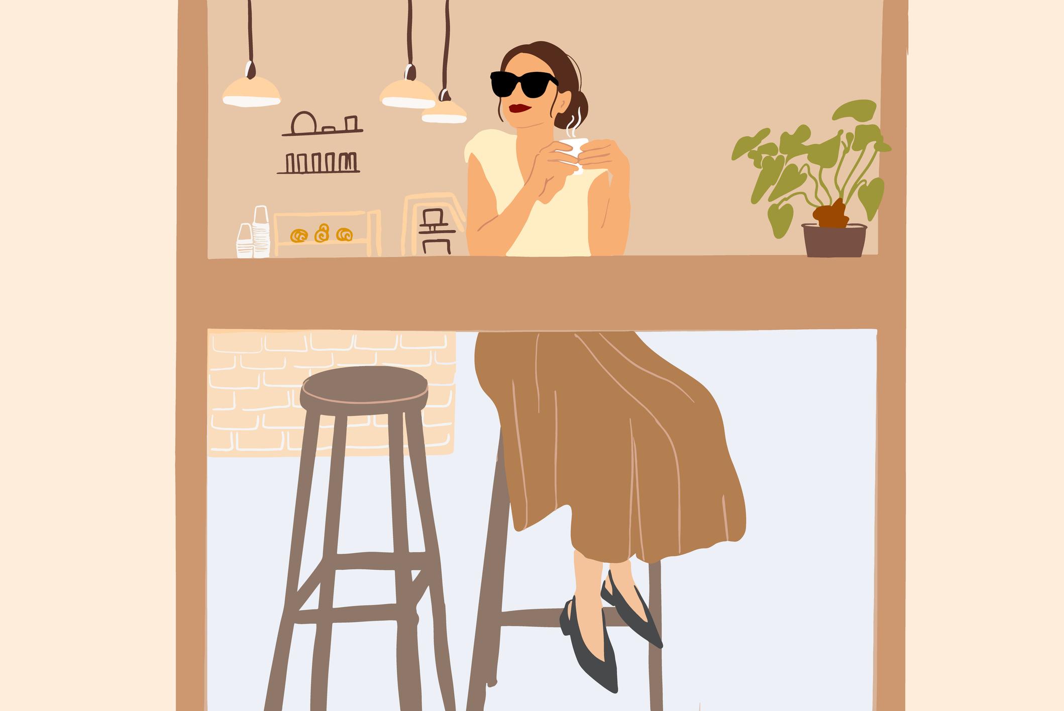 mulher-cafe-ilustracao