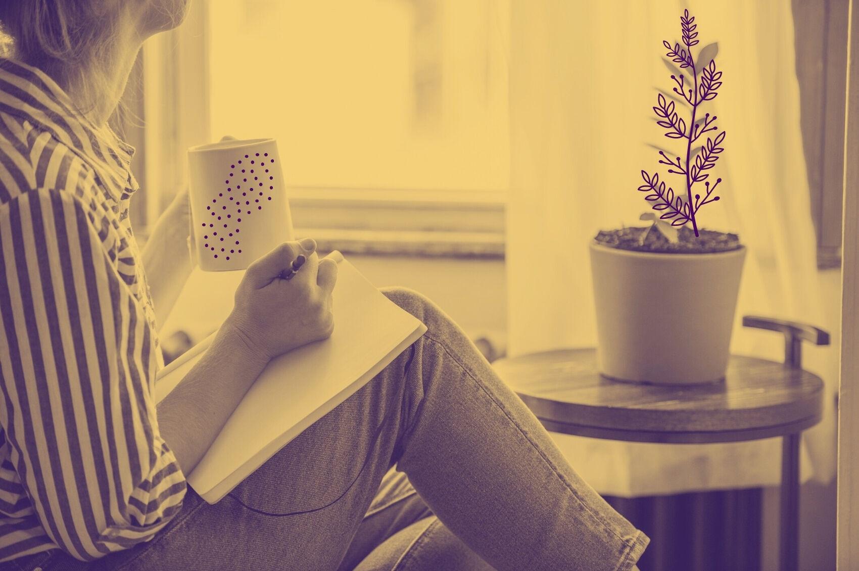 mulher-escrever
