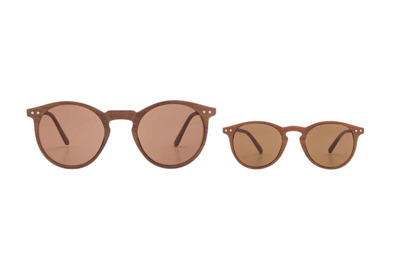 Óculos em tamanho infantil e adulto