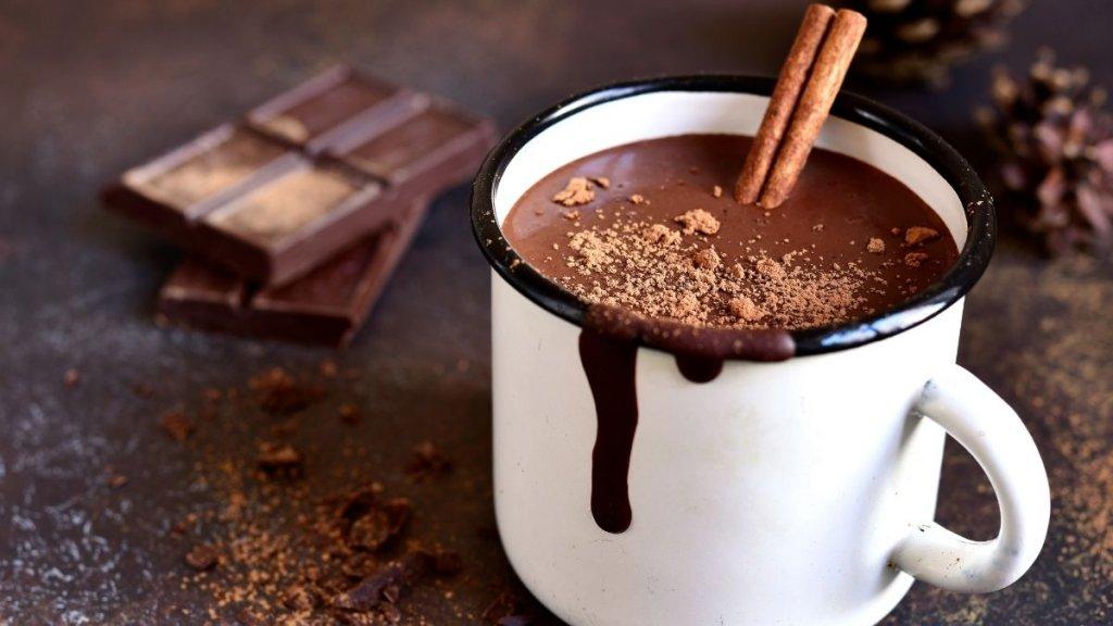 Receitas de festa junina - chocolate quente