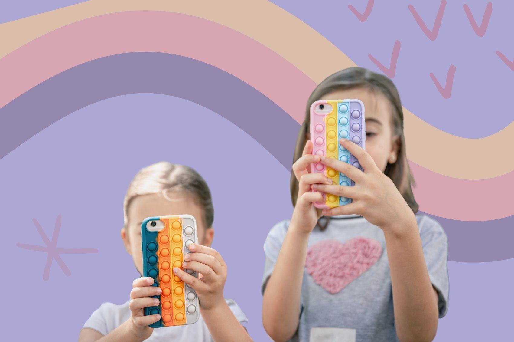 crianças-celular