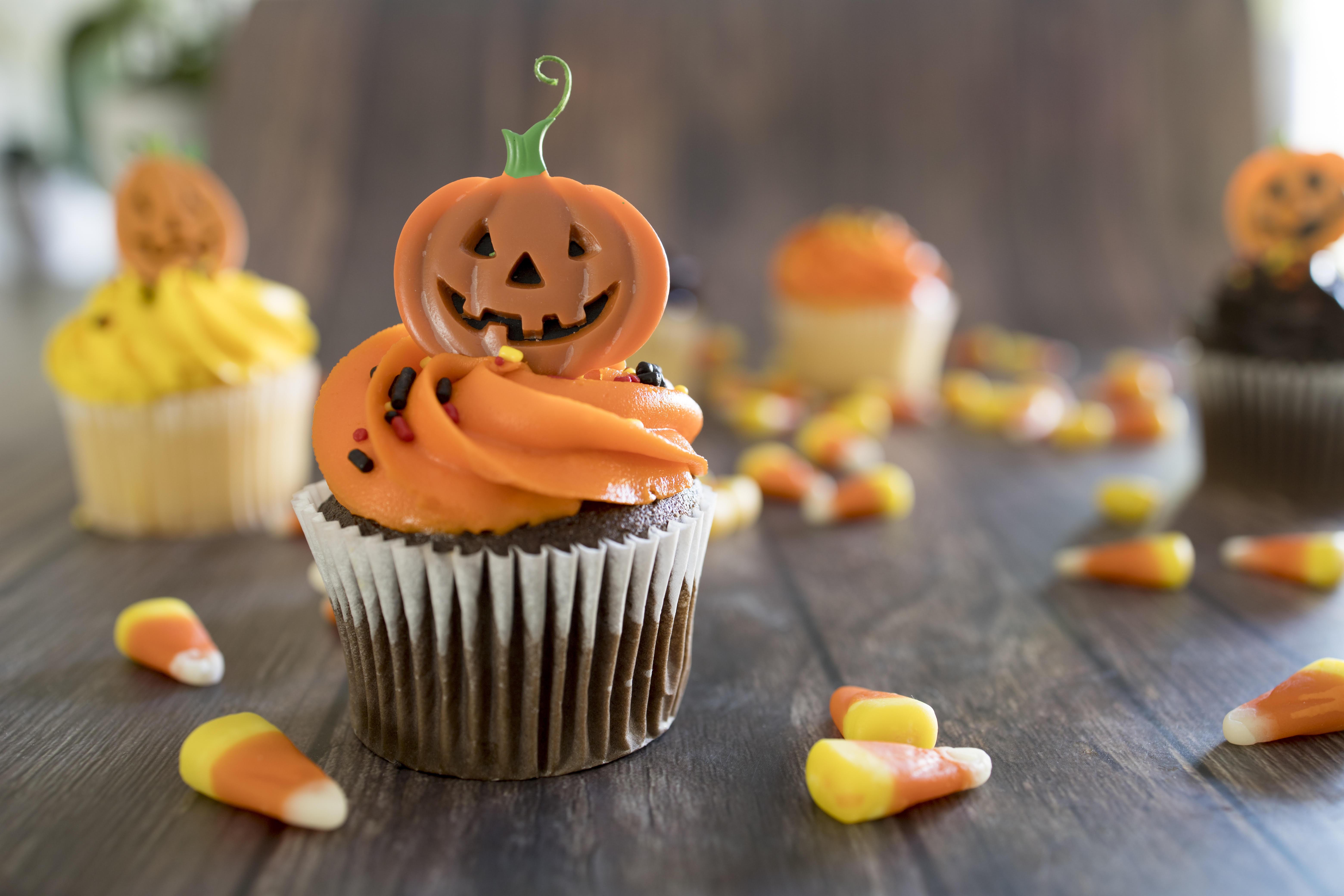 doces-de-halloween-receitas-para-criancas-cupcake